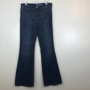 Gap High Rise High Waisted Flare Jeans Size 10